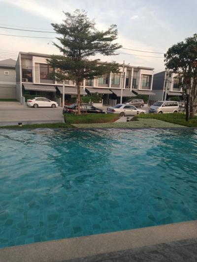 บ้านพร้อมเฟอร์นิเจอร์ 18000 นนทบุรี บางใหญ่ เสาธงหิน
